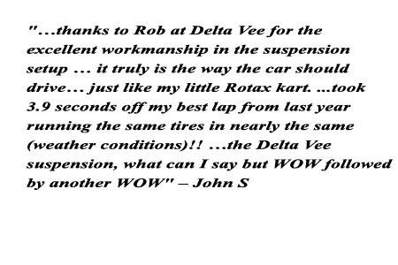 Delta Vee Motorsports LLC testimonial