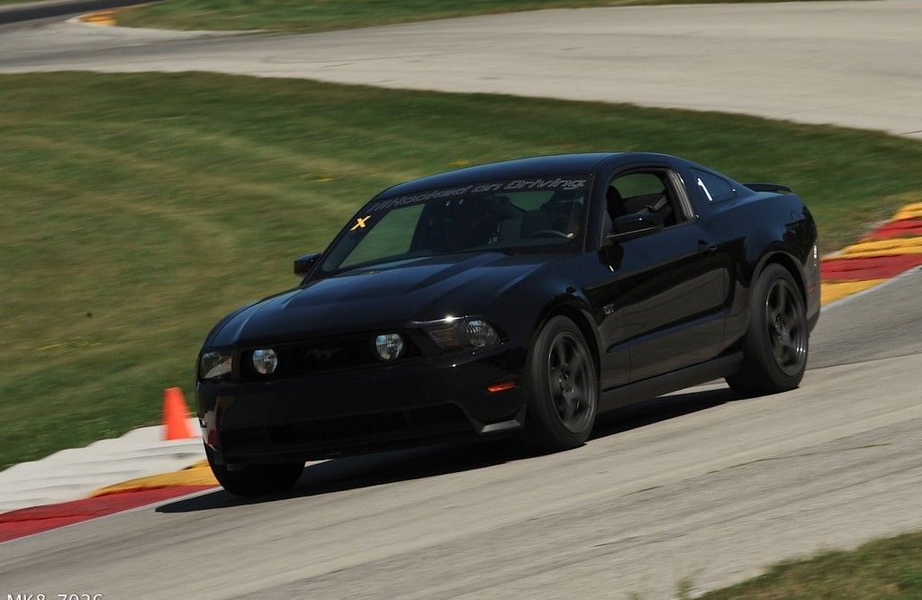 2010 Mustang GT at Road America